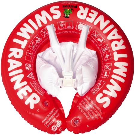 koleso swimtrainer červená farba