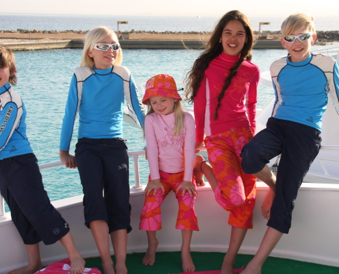UV oblecenie pre deti